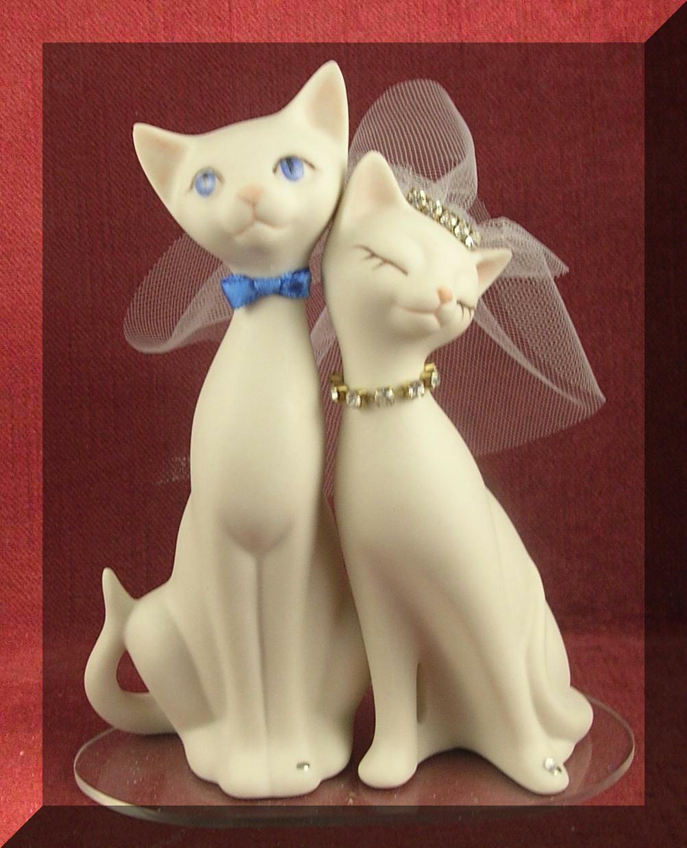 Cat Wedding Cake Toppers Cat wedding, Wedding cake