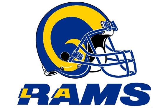 Pin By Dixie Lujan On Sports La Rams Football Clips Nfl Logo