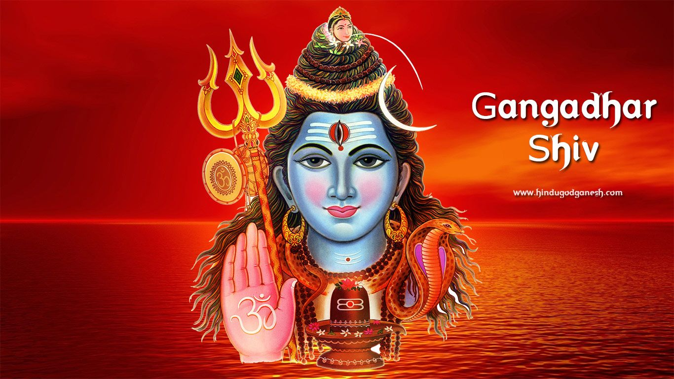 Free download Gangadhar shiv hd wallpaper with red