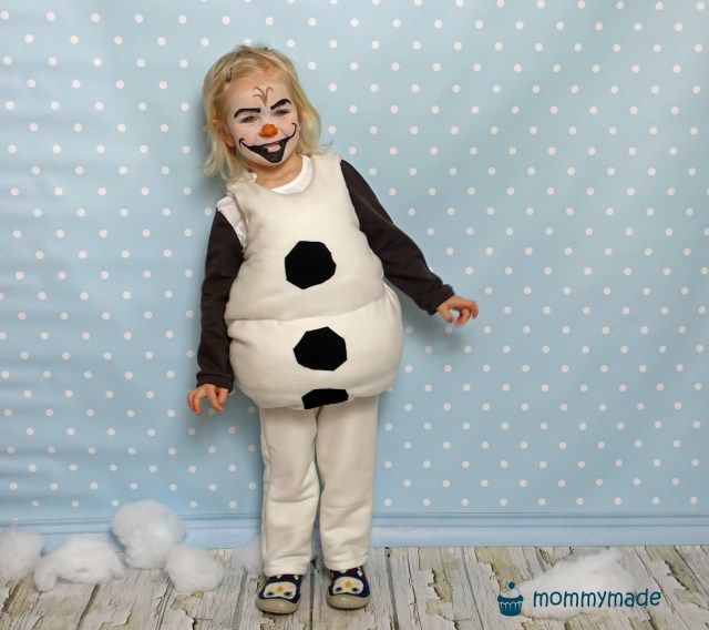 do you wanna build a snowman snowman costume diy. Black Bedroom Furniture Sets. Home Design Ideas
