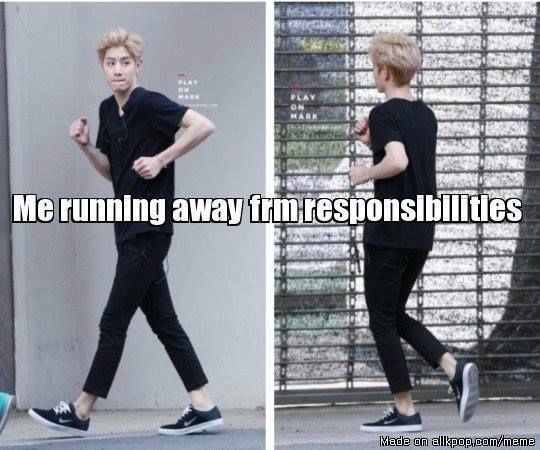 Me running away from my responsibilities | K-pop and K-Drama