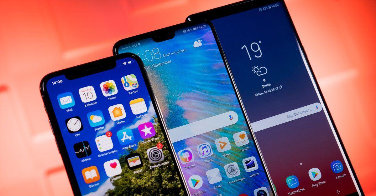 Top 10 Handys Die Aktuell Beliebtesten Smartphones In Deutschland Smartphone Handys Android