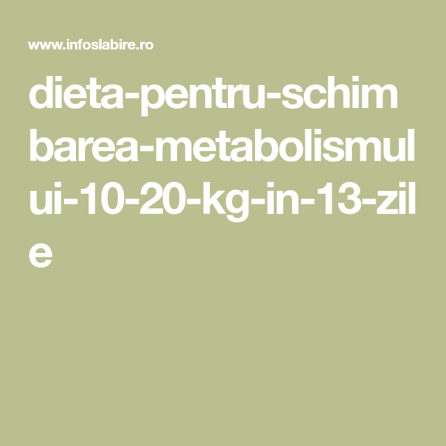 Dieta care îţi schimbă metabolismul: Nu te vei mai îngrăşa niciodată