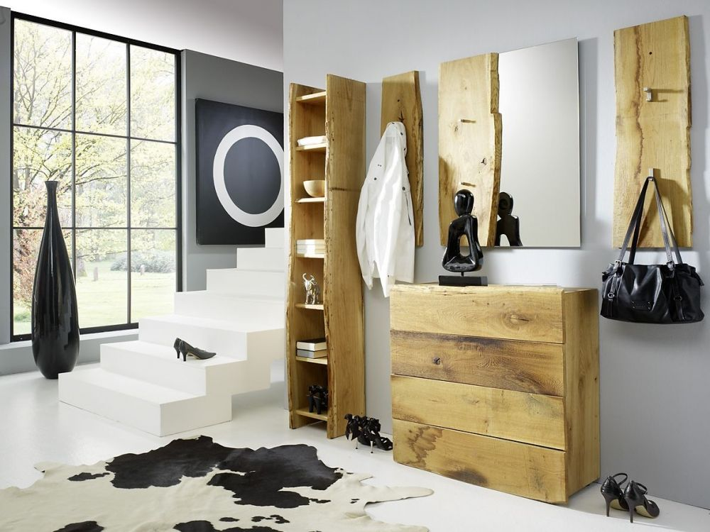 woodline garderobenset ii eiche s gerau diele flur. Black Bedroom Furniture Sets. Home Design Ideas