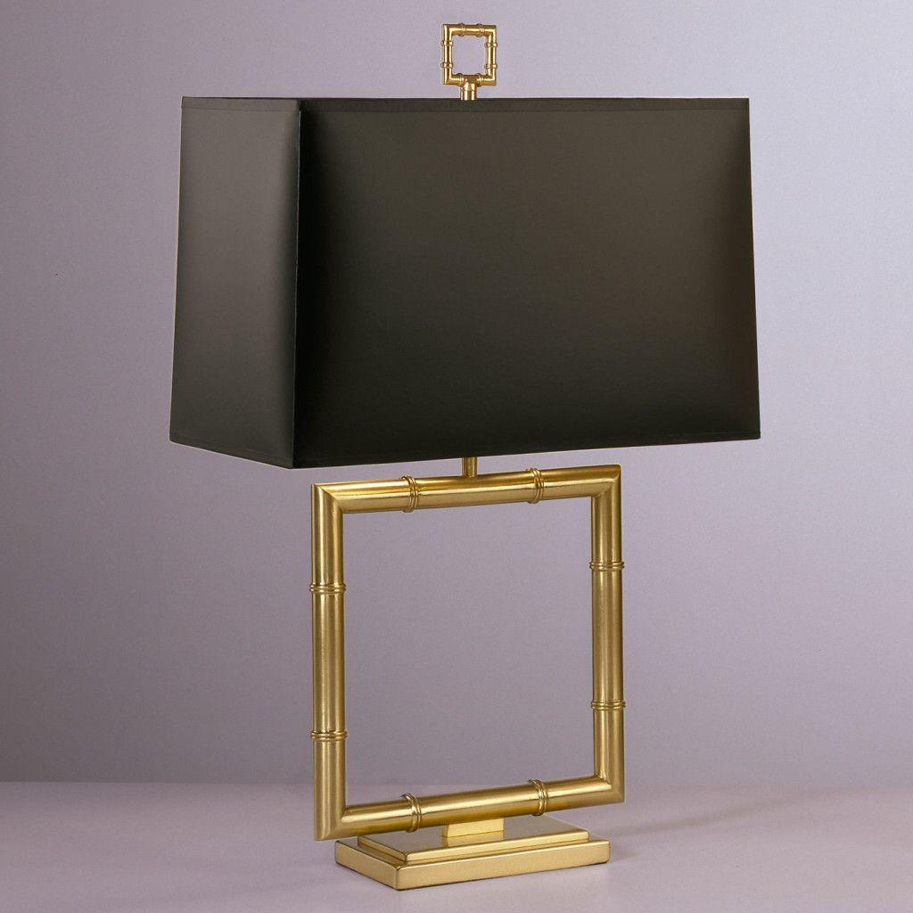 Meurice Square Table Lamp From Jonathan Adler