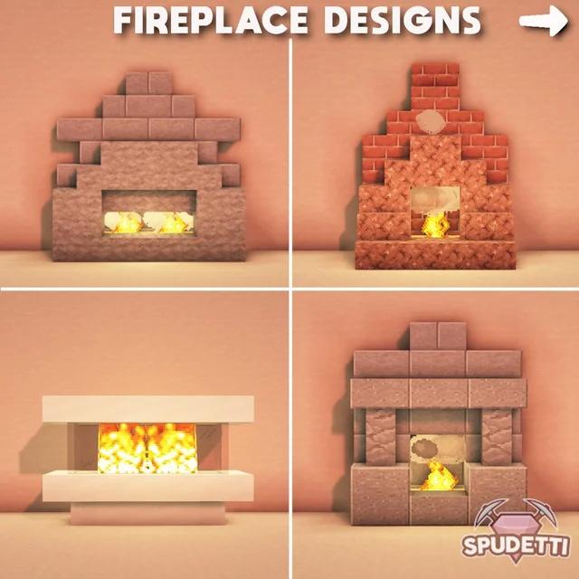 17++ Fireplace minecraft ideas ideas in 2021