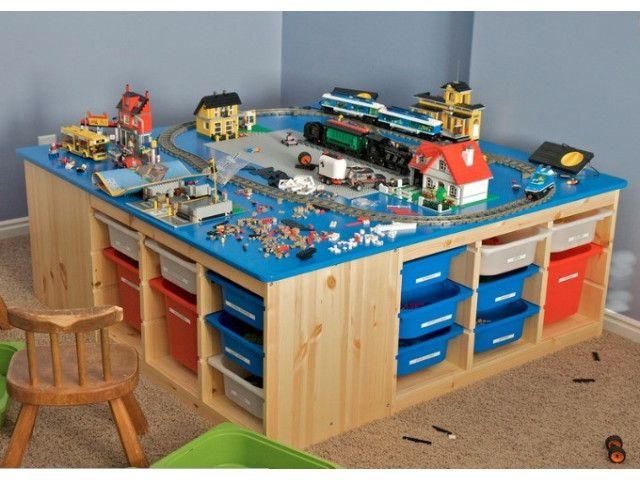 Si Vos Enfants Sont Fans De Lego, Ces Idées Pour Bien Ranger Les Pièces  Peuvent Vous Plaire. En Effet, Les Collectionneurs Se Retrouvent Vite Avec  Un Nombre ...