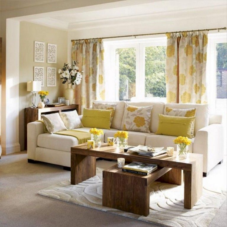 54+ Awesome Living Room Curtain Ideas For Comfortable ...