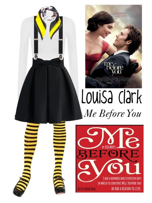 """""""Louisa Clark"""" by angelxalice ❤ liked on Polyvore featuring WearAll, Chicwish, Topman, Dsquared2, love, MostLovedCharacter and MeBeforeYou"""