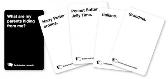 Cards Against Humanity Adult version of the American