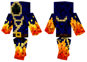 Minecraft Skins Fire Mage Skin Png Image With Transparent Background Png Free Png Images Minecraft Skins Skins Fire Mage
