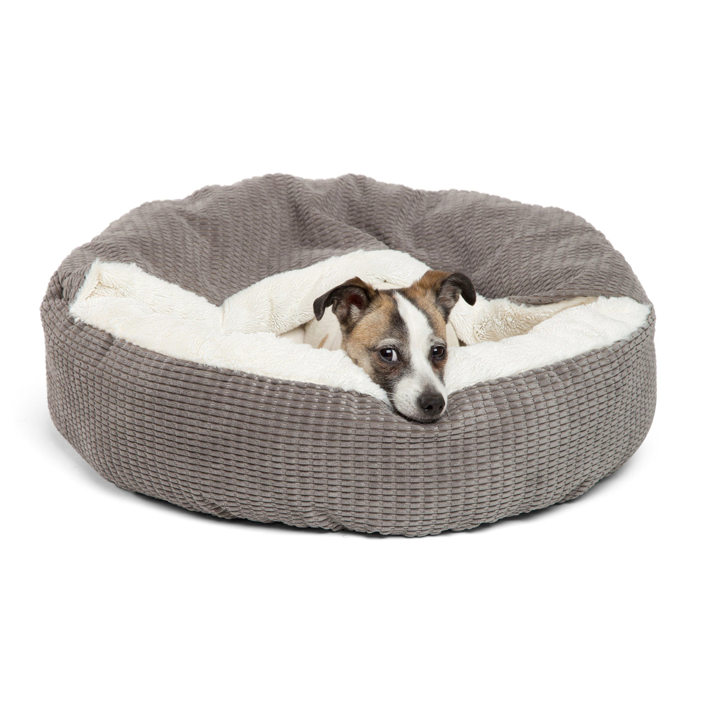 Best Friends By Sheri Cozy Cuddler C Luxury Dog And Cat Bed With Blanket For Warmth And Security Offers Head Neck And Joint Sup Cat Bed Dog Bed Luxury Dog