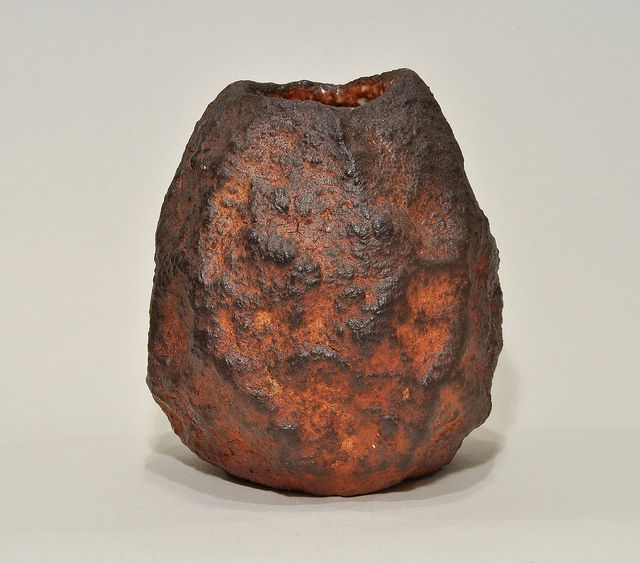 Mark Smalley Ceramics - Volcano vase