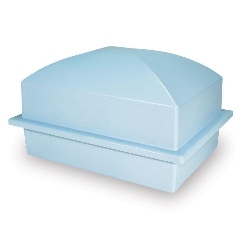 Blue Cremation Urn Vault