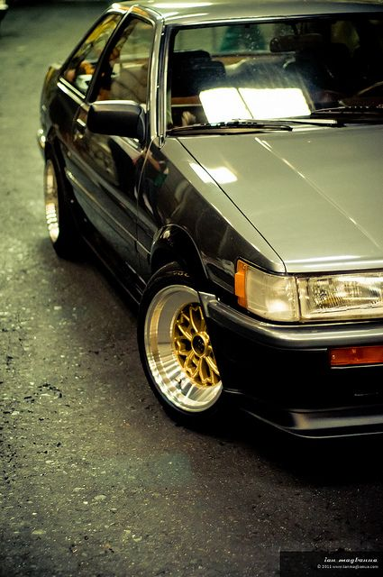 AE86 Trueno + Levin- 20 | Flush  Offset  Camber  Fitment