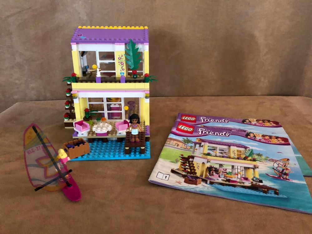 41037 Lego Complete Friends Stephanies Beach House Instructions