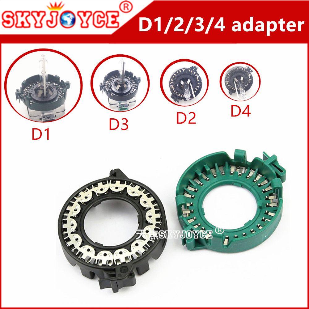 2 X D1s Hella Bulb Holder Bixenon Hella Projector Lens Plug Bulb Holder D1c D1s D1r D3s Xenon Passat Headlights Parts Accessory Hid Xenon Projector Bulbs Bulb