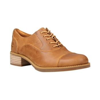 Timberland Chaussures Beckwith Lace Oxford Femme Wheat