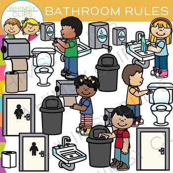 School Bathroom Rules bathroom rules clip art | bathroom rules, clip art and colour images