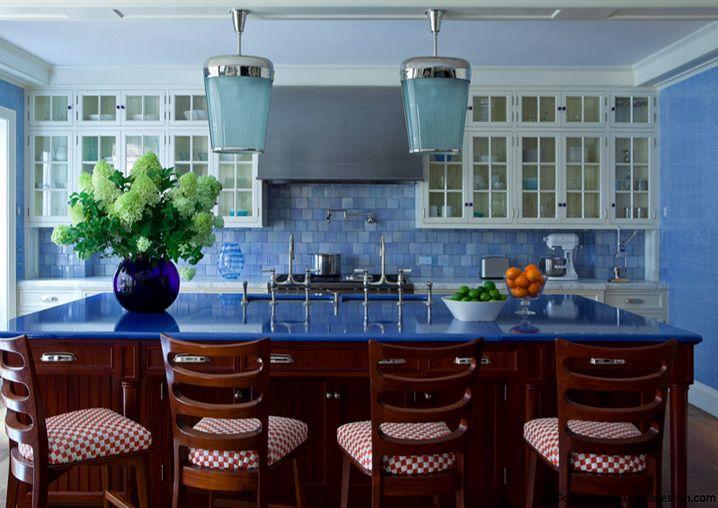 kitchen love...island lava stone counter