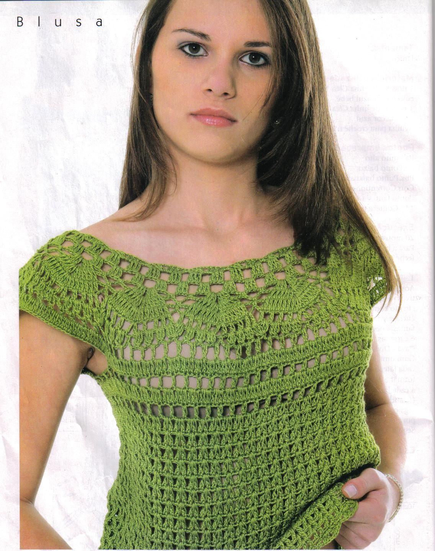 BLUSAS PRECIOSAS EN CROCHET - Imagui | Crochet Sweaters | Pinterest ...