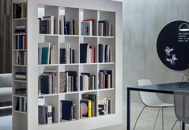 Modern Modular libraries, design Made in Italy | Novamobili