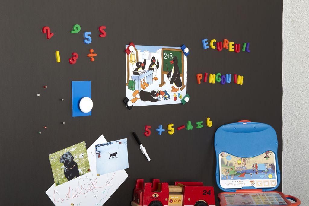 FERFLEX Adhésif revêtement mural ferreux adhésif pour magnets