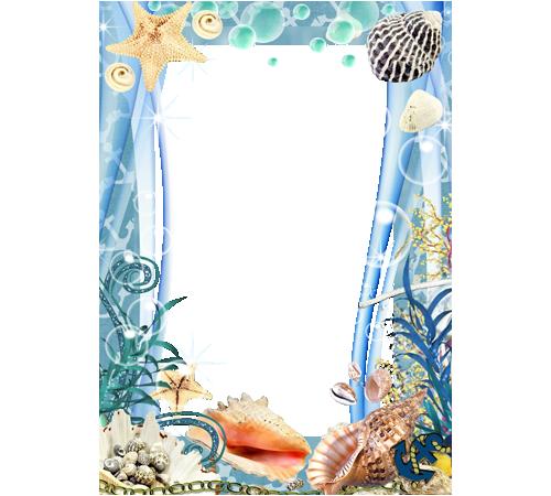 Ocean Frame | Photo frame - Ocean theme | PICTURE (FRAME IT ...