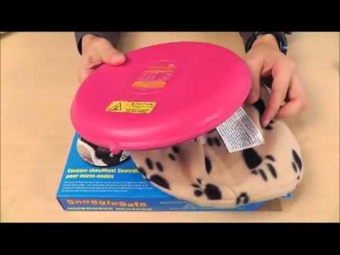 Snugglesafe Microwave Heatpad How Can Keep Your Pets Warm