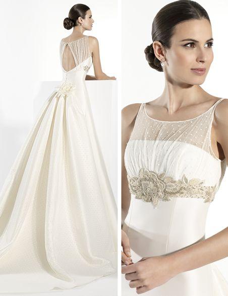 one of kind franc sarabia wedding dresses 2014 collection   bodas