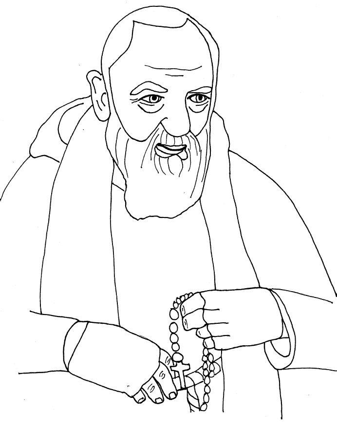 Saint Padre Pio Of Pietrelcina Feast Is September 23 Desenho