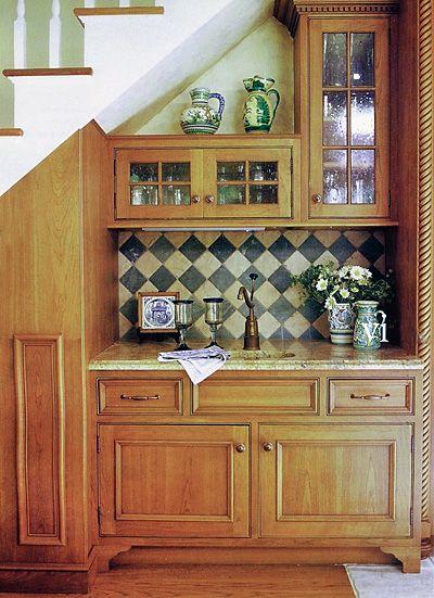 under stairs wet bar google search kitchen cabinets under stairs home basement kitchenette on kitchen under stairs id=68643
