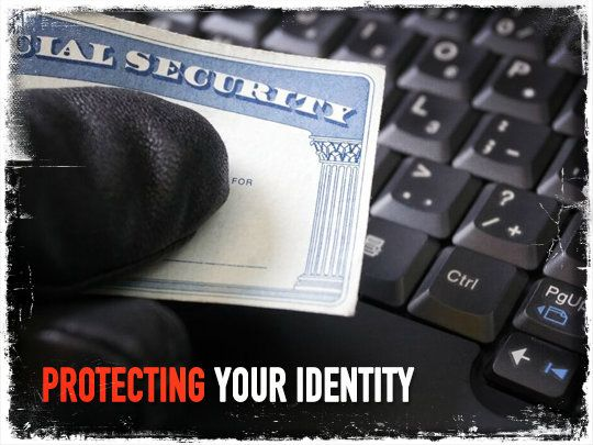 Protecting Your Identity Stolen Identity Social Security Card