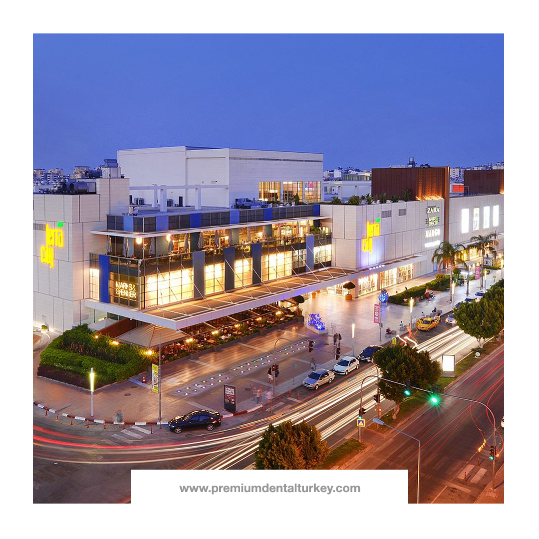 Terracity, one of the the largest shopping malls in Antalya