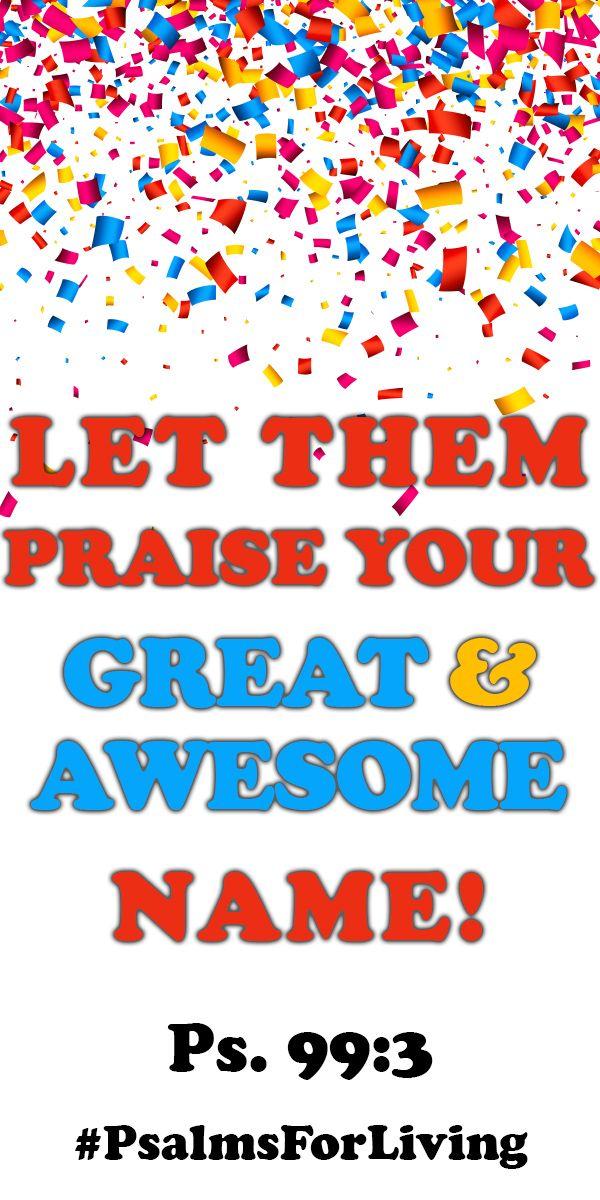 Always remember to praise God!