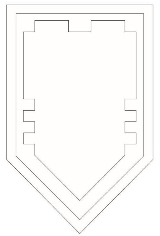 kidsnfun  coloring page lego nexo knights your shield