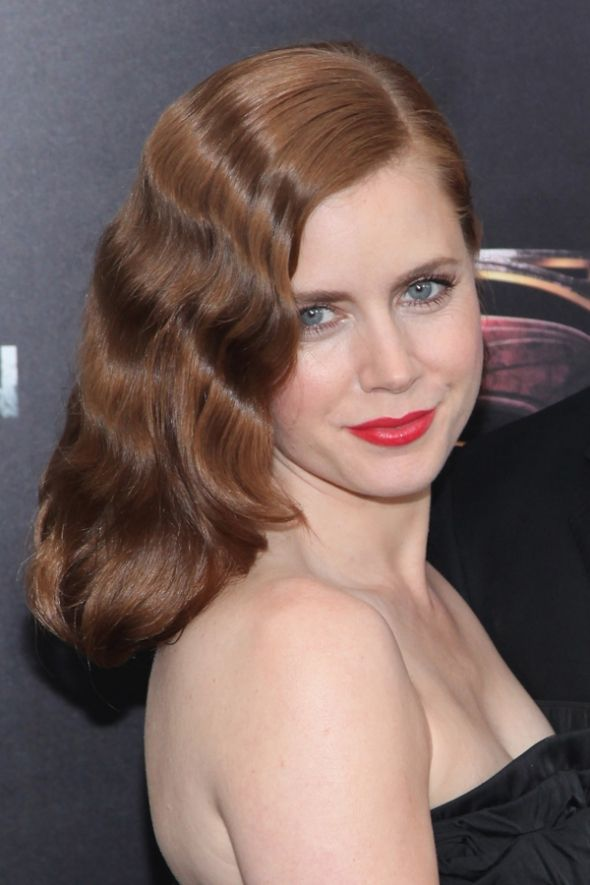 Hairstyles How To Amy Adams At The Man Of Steel Premiere Elegant