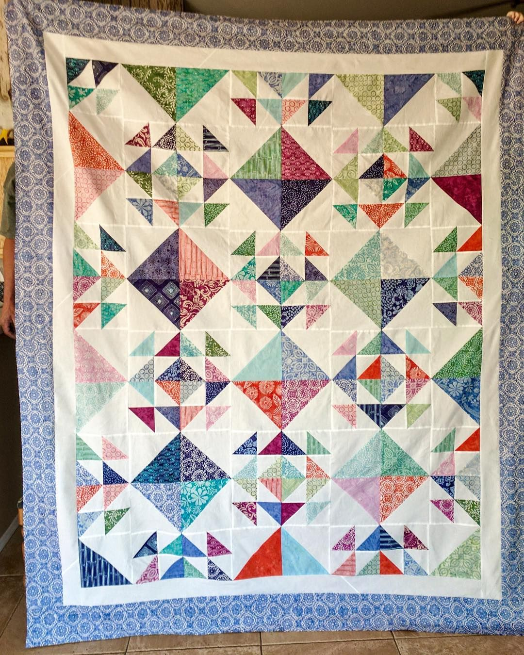 Sweet Treat Quilt I Have One Kit Left For This Bright And Easy Quilt It S Made With Miss Rosie S Cake Mix Reci Quilts Easy Quilts Layer Cake Quilt Patterns