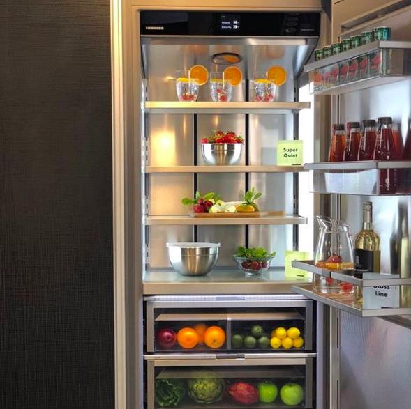 Take a peek inside the Monolith refrigerator by Liebherr  It's got a