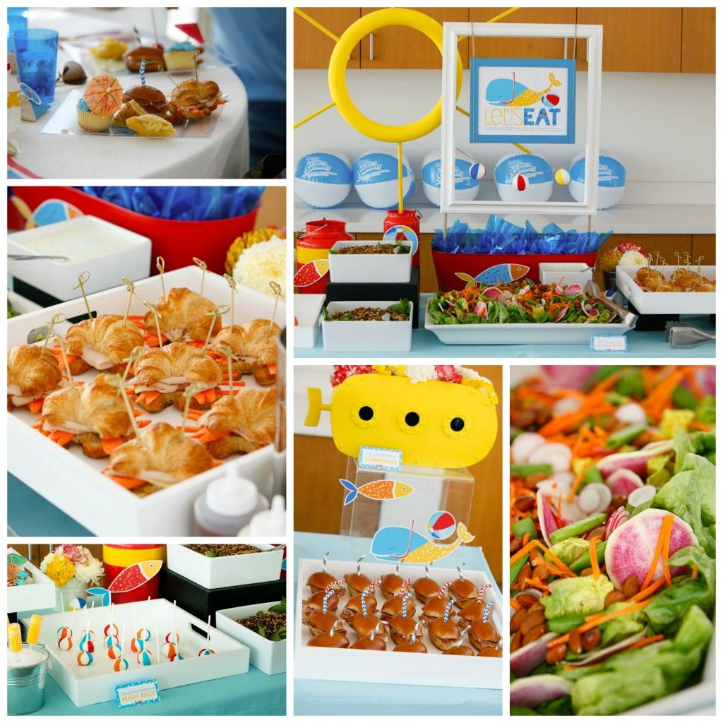 Beach House Birthday Party Architectural Designs