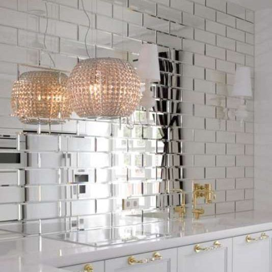 Pin On Reflections Glass Mirror Beveled Back Splash Wall Tile Anaheim Ca