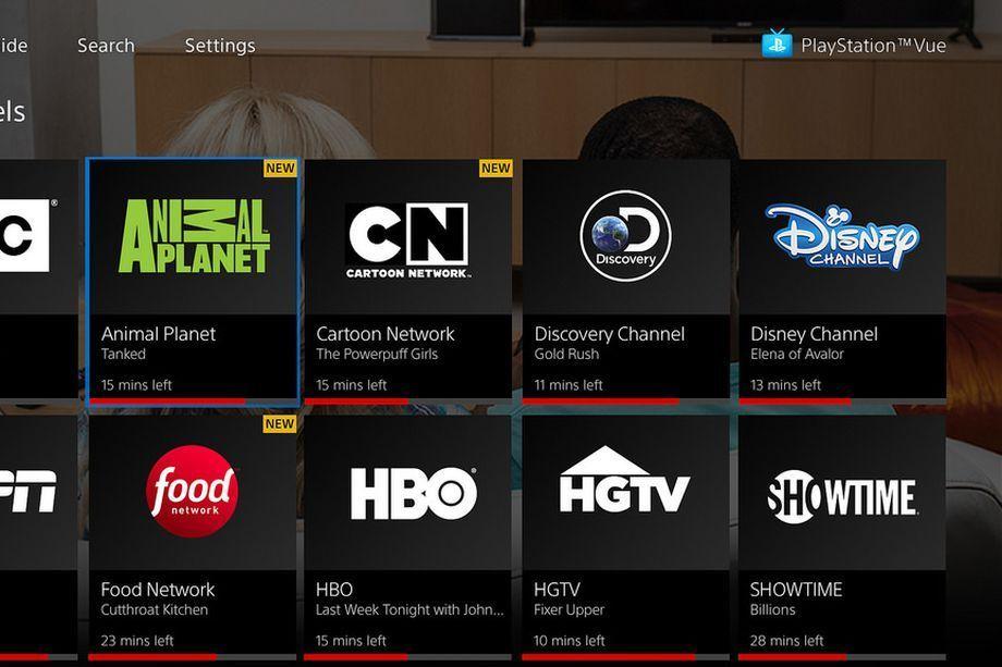 خدمات تطبيق PlayStation Vue أصبحت متوفرة على تطبيق تلفزيون