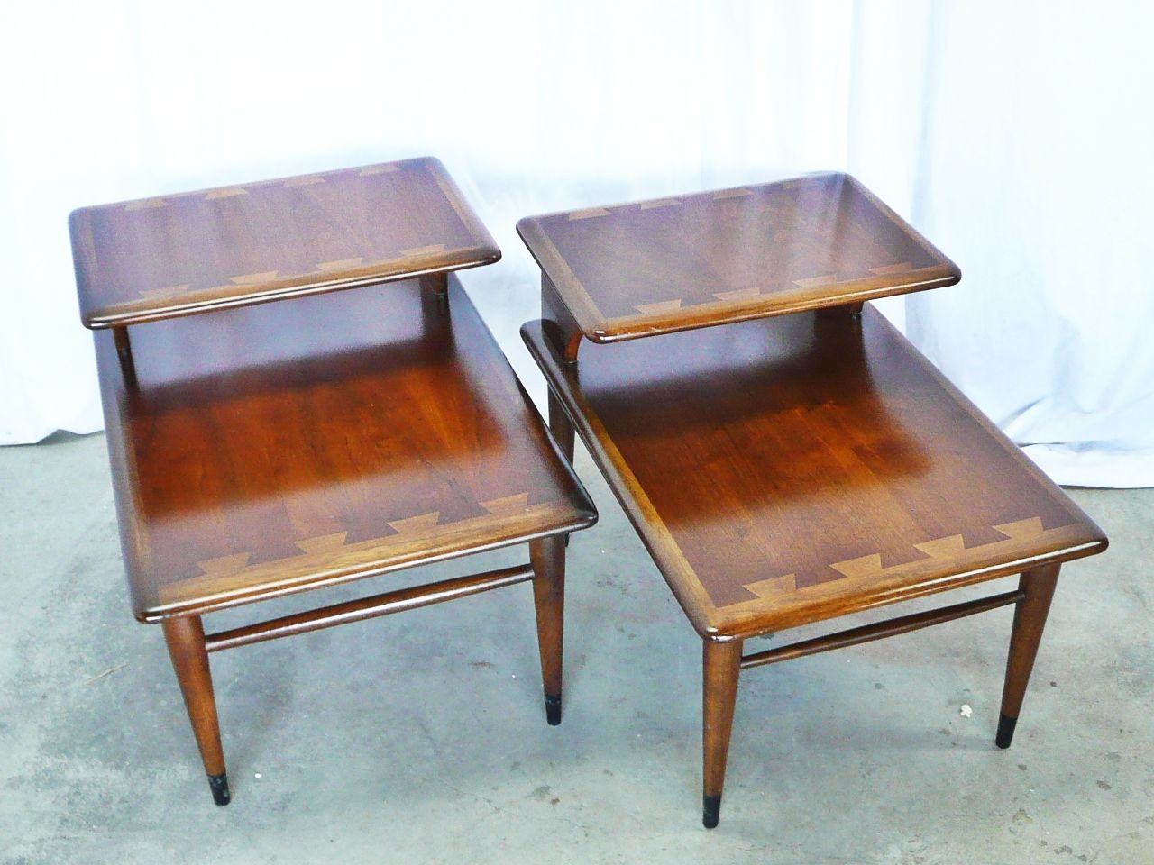 Vintage Lane Sofa Table Simple Leather Acclaim Bow Tie Step End Quotside Quot Tables By Andre Bus