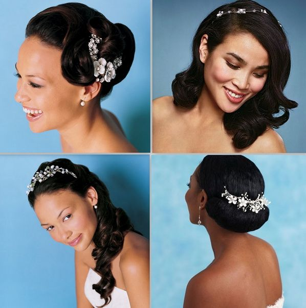 Prime 1000 Images About Wedding Hairstyles On Pinterest Updo Short Hairstyles For Black Women Fulllsitofus
