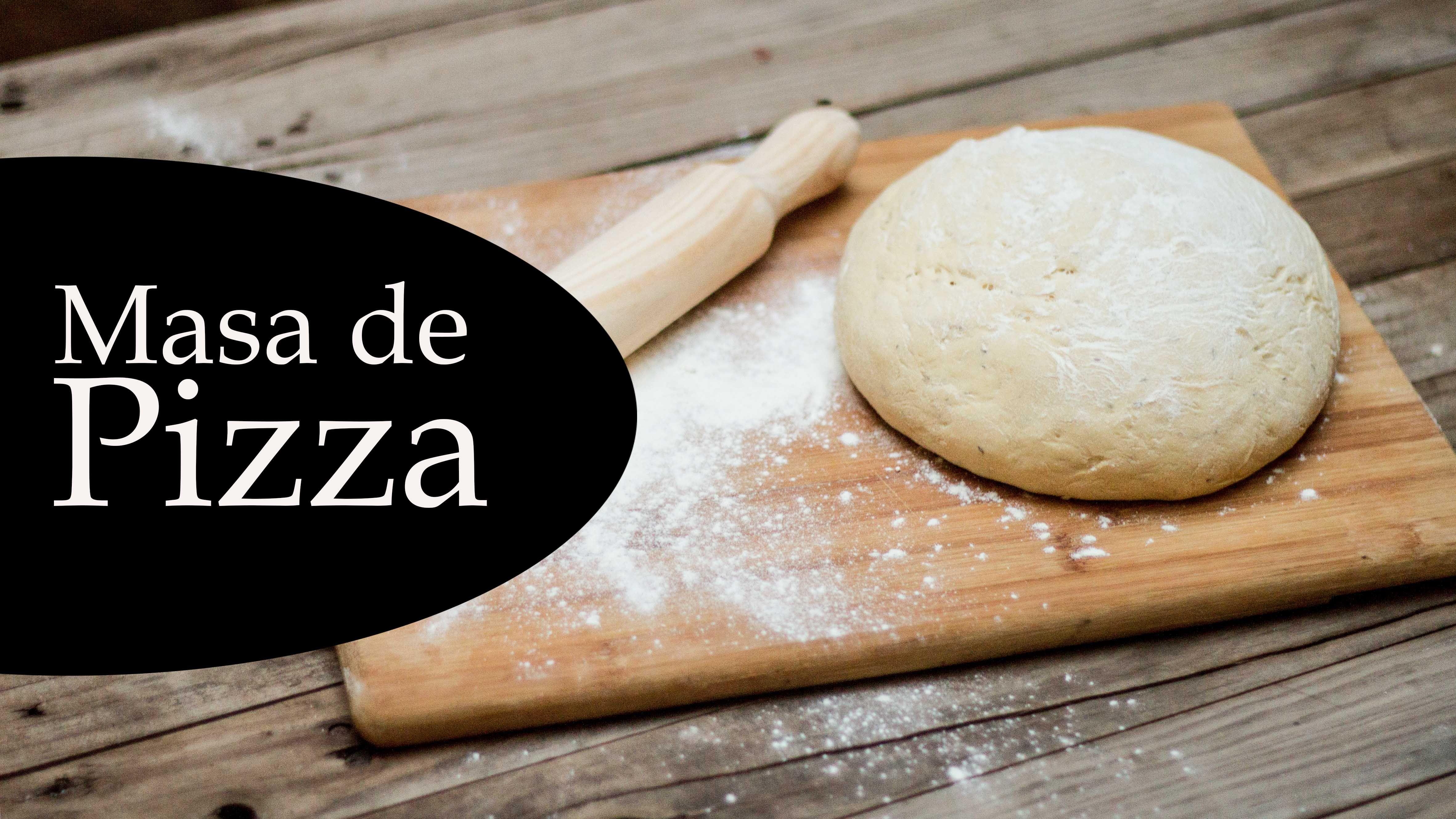 Cómo Hacer Una Masa De Pizza Casera Fácil Y Esponjosa Con Levadura Fresca De Forma Casera Una Masa Que Te Servirá Cómo Base Para Tu Pizza F Hamburger Food Bun