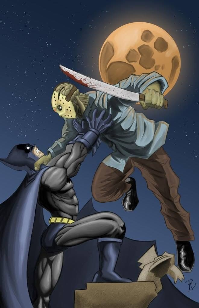 Batman vs Jason