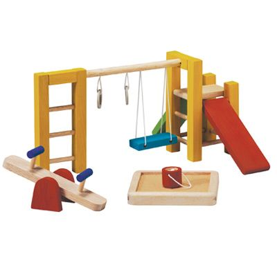 Dollhouse Playground Toys, Wooden dolls and Dollhouses - plan maison 5 pieces