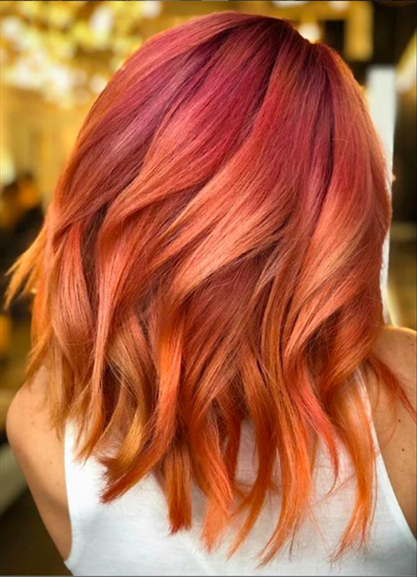 42 Trending Spring Haircut Ideas For Straight Hair And Curly Hair The First Hand Fashion News For Females In 2020 Hair Styles Short Red Hair Short Hair Styles