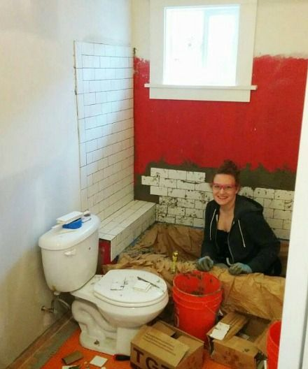 A Small Bungalow Bathroom Makeover Small Bungalow Bungalow Bathroom Small Remodel
