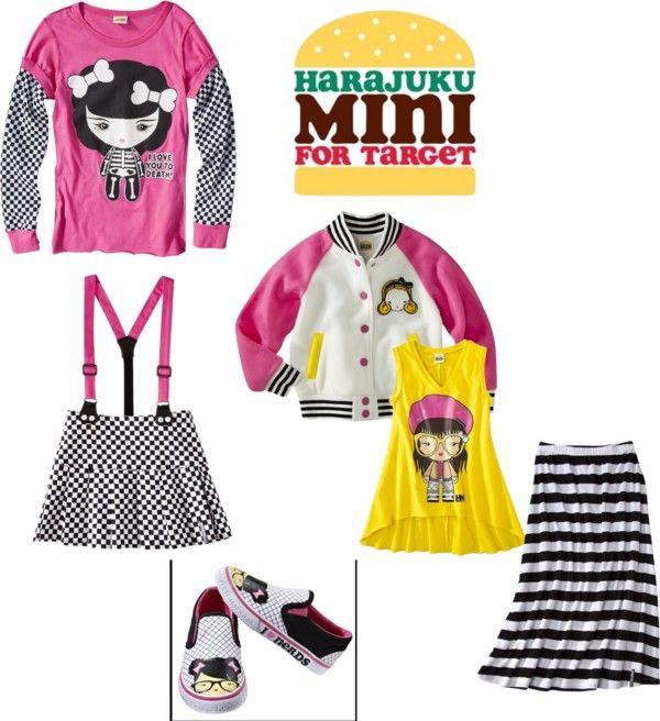 HARAJUKU MINI FOR TARGET T-Shirt Super Cute Super Price Super Harajuku!!!!